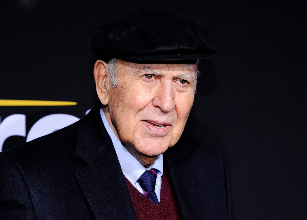 Amerikaanse acteur en filmregisseur Carl Reiner bij een evenement in Los Angeles in december 2011.
