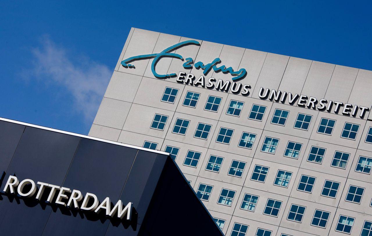 De Erasmus Universiteit in Rotterdam.