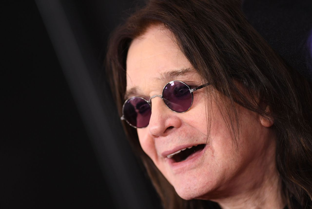 Rocklegende Ozzy Osbourne in januari2020 bij de Grammy Awards-uitreiking in Los Angeles.