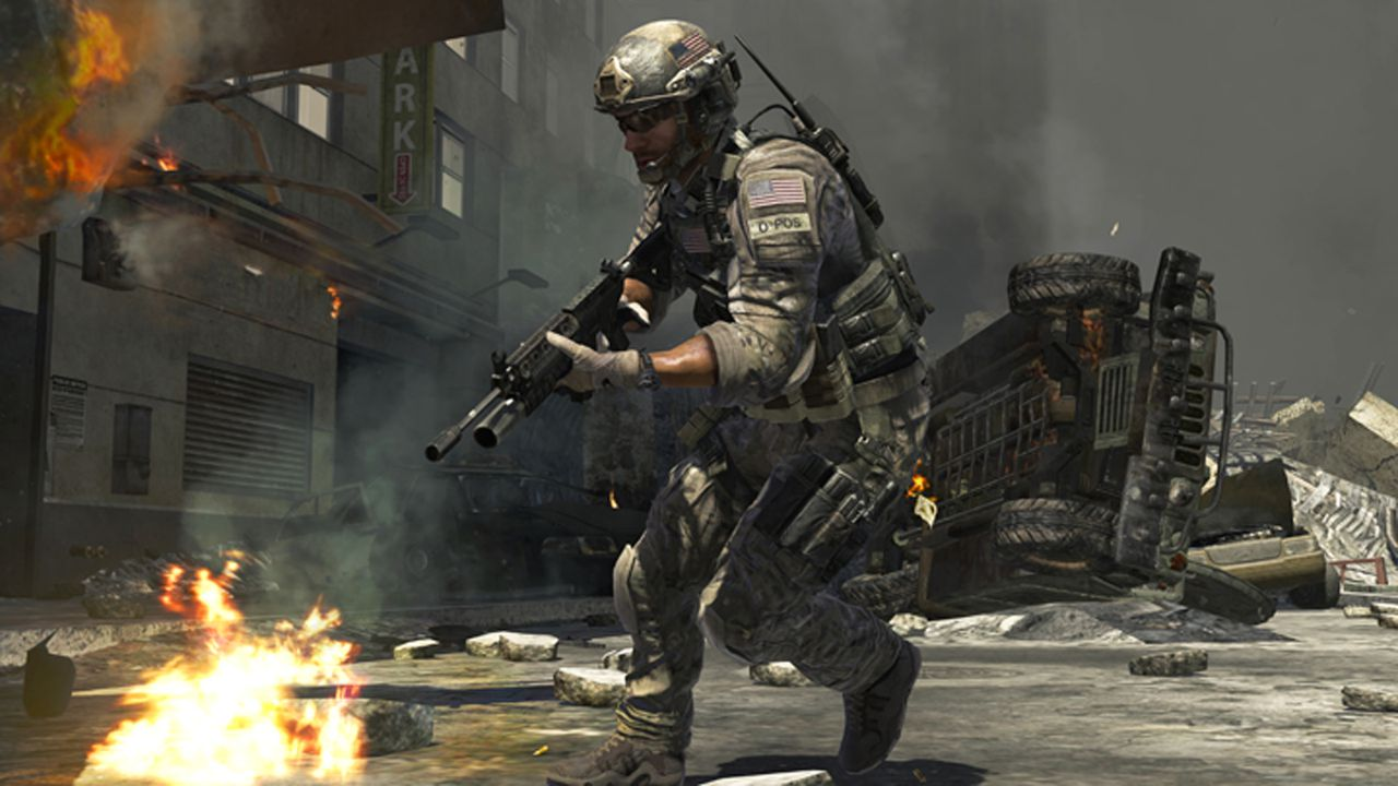 "In this screen shot provided by Activision, ""Call of Duty: Modern Warfare 3,"" the upcoming installment of the popular shooter series, is shown. Activision is launching ""Call of Duty: Elite,"" an online platform for the game, later this year. (AP Photo/Activision)"