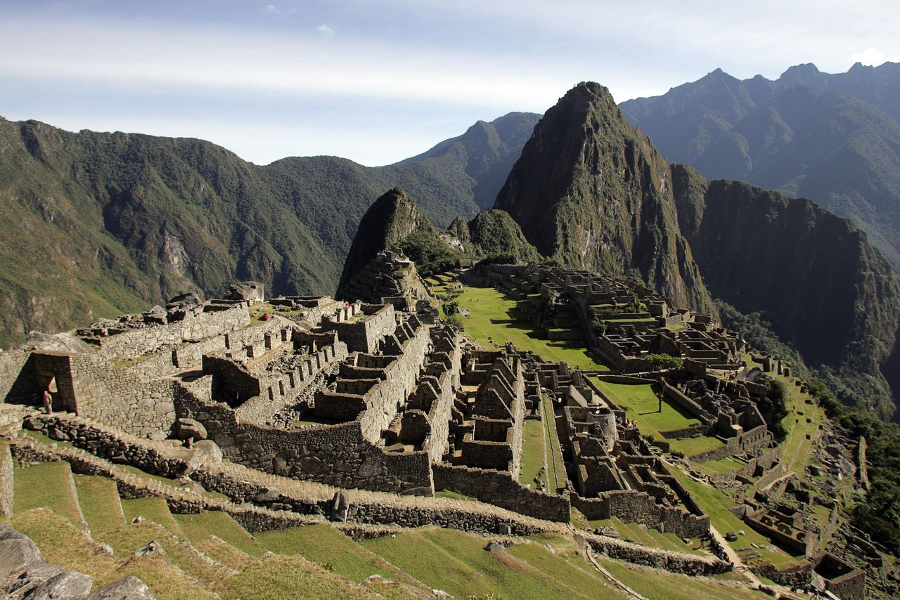 (FILES) This file picture shows a general view of the Inca citadel of Machu Picchu in the Peruvian department of Cusco, June 23, 2007. Peruvian Minister of Foreign Commerce and Tourism, Martin Perez, stated that the ancient site will be reopened to tourism in April, after heavy rains in January blocked the railways to Cusco, leaving somw 3.500 tourists stranded in Machi Picchu and nearby Aguas Calientes. AFP PHOTO/Eitan ABRAMOVICH /FILES
