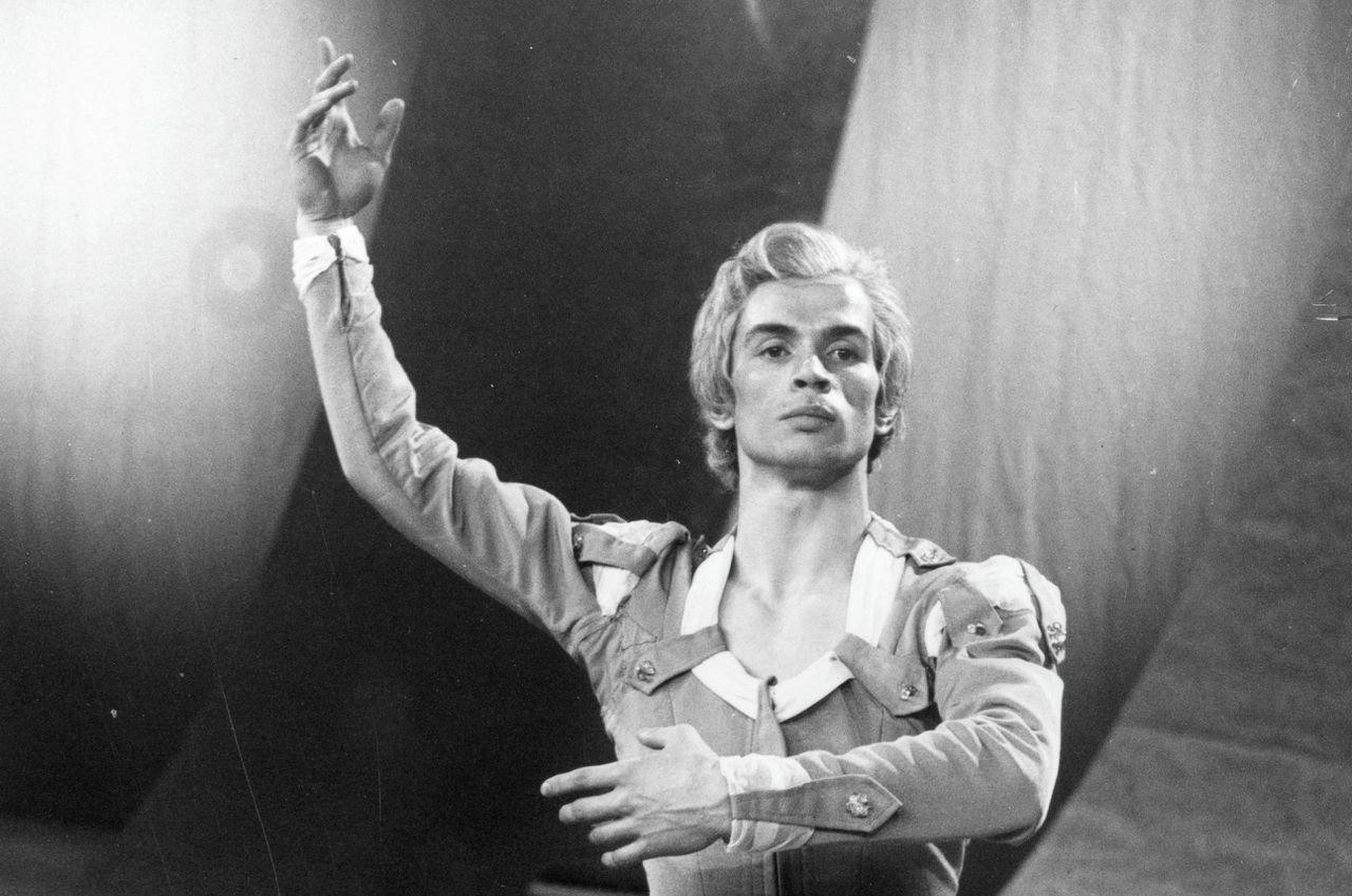 Balletdanser Rudolf Noerejev