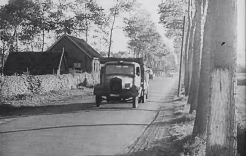 Beelden uit een Duitse propagandafilm