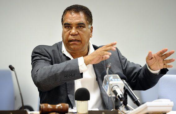 De Bonairiaanse politicus Ramonsito Booi, één van de politici die werd bespioneerd door de AIVD.