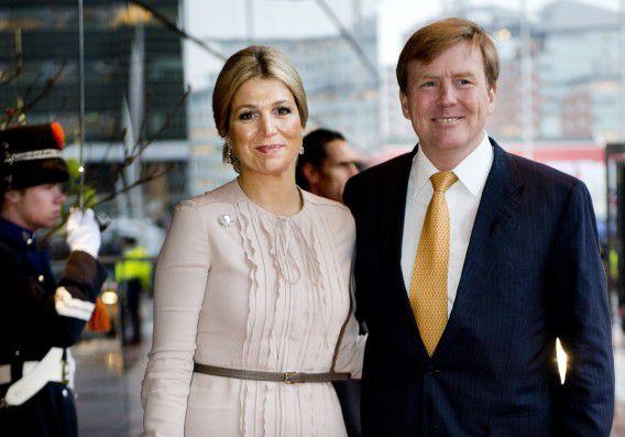 Aanstaand koning en koningin Willem-Alexander en Maxima, hier tijdens de viering van de 75e verjaardag van koningin Beatrix.