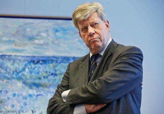 Archieffoto, minister Ivo Opstelten.