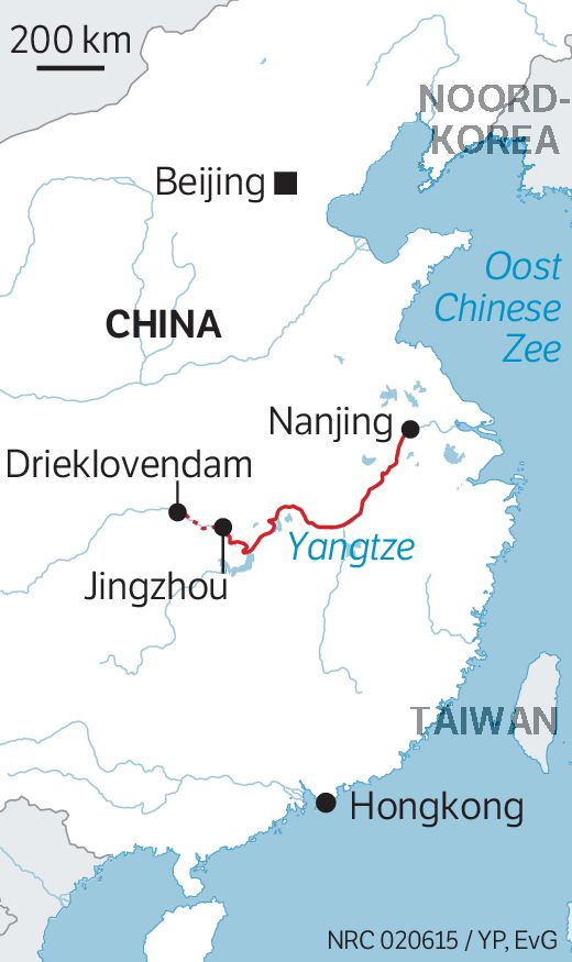 Langste rivier in China