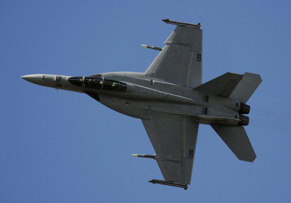 Archiefbeeld van een F18.