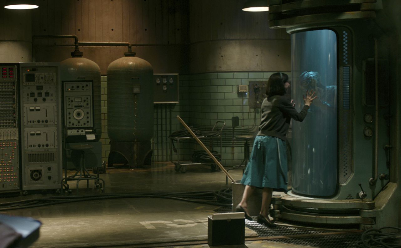 Een scène uit The Shape of Water.