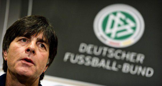 Coach Joachim Löw van het Duitse nationale elftal.