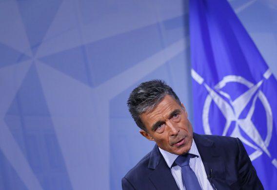 Secretaris-generaal van de NAVO, Anders Fogh Rasmussen.