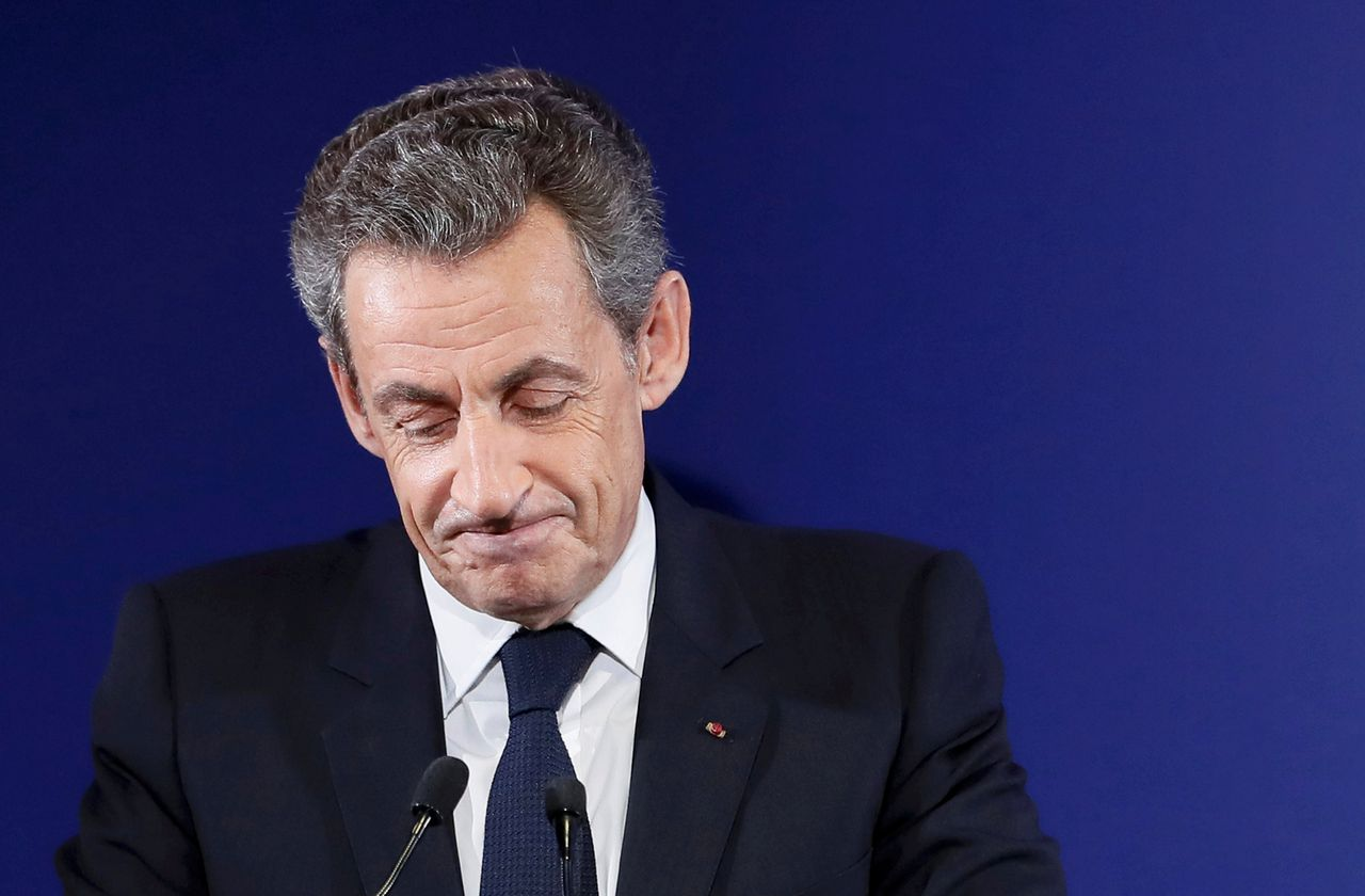 Nicolas Sarkozy in Parijs in november 2016.