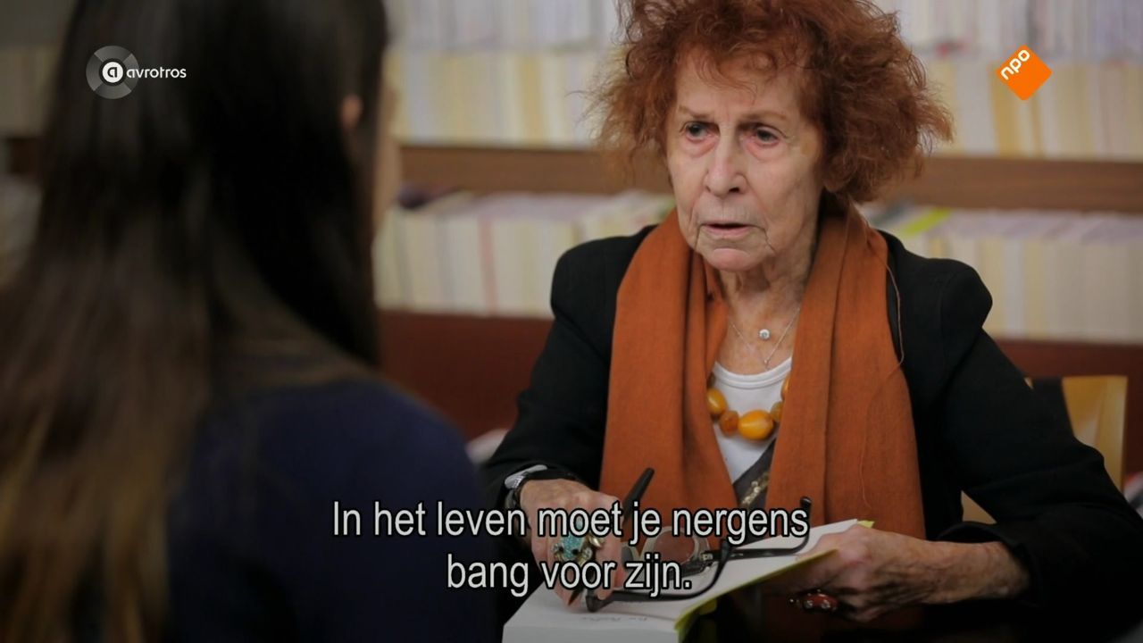 Marceline Loridan-Ivens (90) geeft levenslessen in Close up.