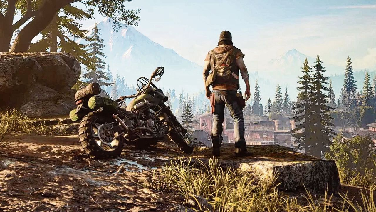 De spelwereld in de game Days Gone (PS4) is levensgevaarlijk.