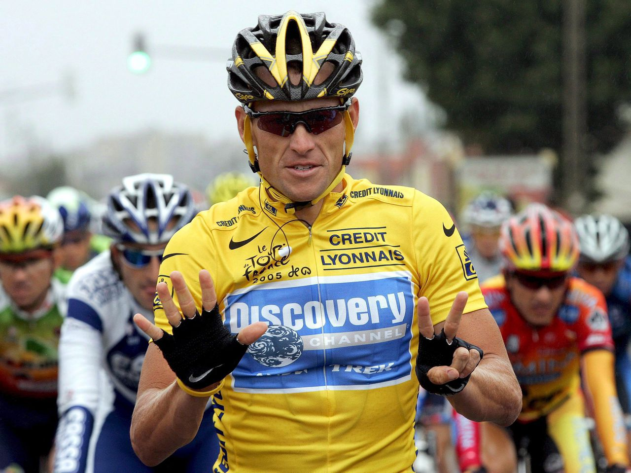 Lance Armstrong in 2005.
