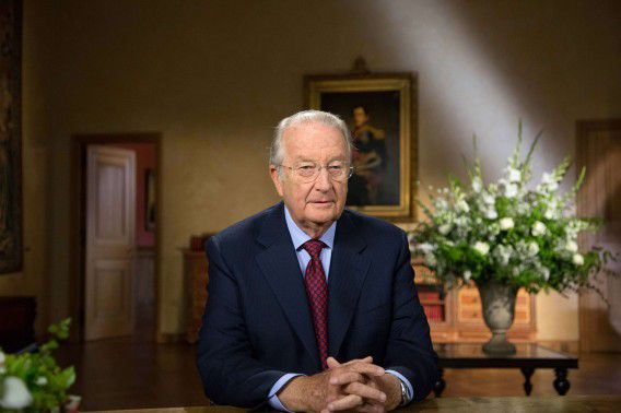 Koning Albert riep in zijn laatste toespraak tot het Belgische volk het land ook op zijn troonopvolger te steunen.