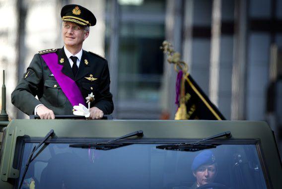 Koning Filip spreekt alle roddels, dat hij een dictator zou zijn, tegen.