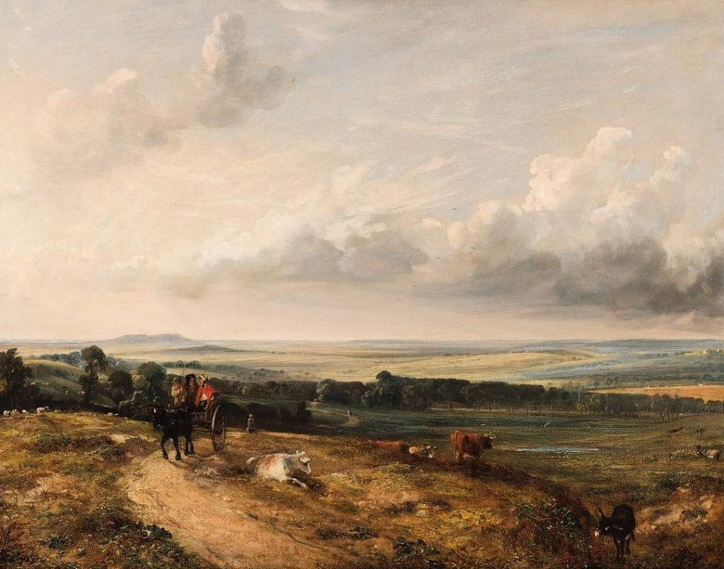 John Constable: 'A View of Hampstead Heath' (1824)