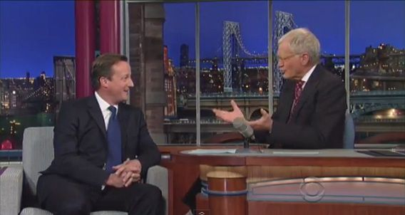 Screenshot Late Show with David Letterman / YouTube