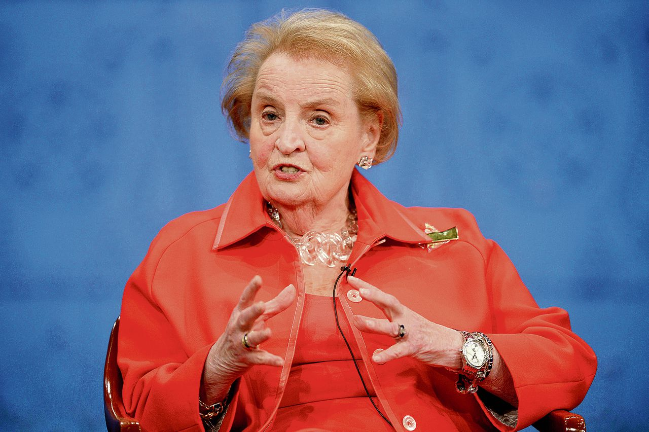 Madeleine Albright in 2014