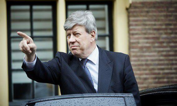 Minister Ivo Opstelten (Justitie) na de Ministerraad, afgelopen vrijdag.