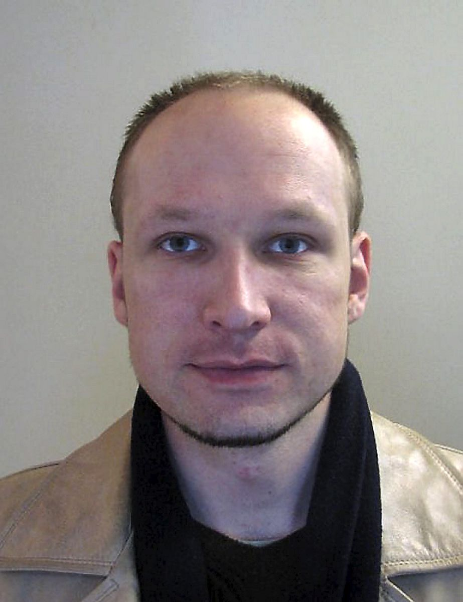 """RESTRICTED TO EDITORIAL USE - MANDATORY CREDIT """"AFP PHOTO/ POLICE """" - NO MARKETING NO ADVERTISING CAMPAIGNS - DISTRIBUTED AS A SERVICE TO CLIENTS (FILES) -- A file photo taken in 2009 and released by Norwegian police shows a portrait of Norwegian killer Anders Behring Breivik. Breivik cannot be held responsible for the July attacks it was announced on November 29, 2011 after psychiatrists submitted a report to the Oslo court on the mental state of the gunman. AFP PHOTO/ POLICE"""