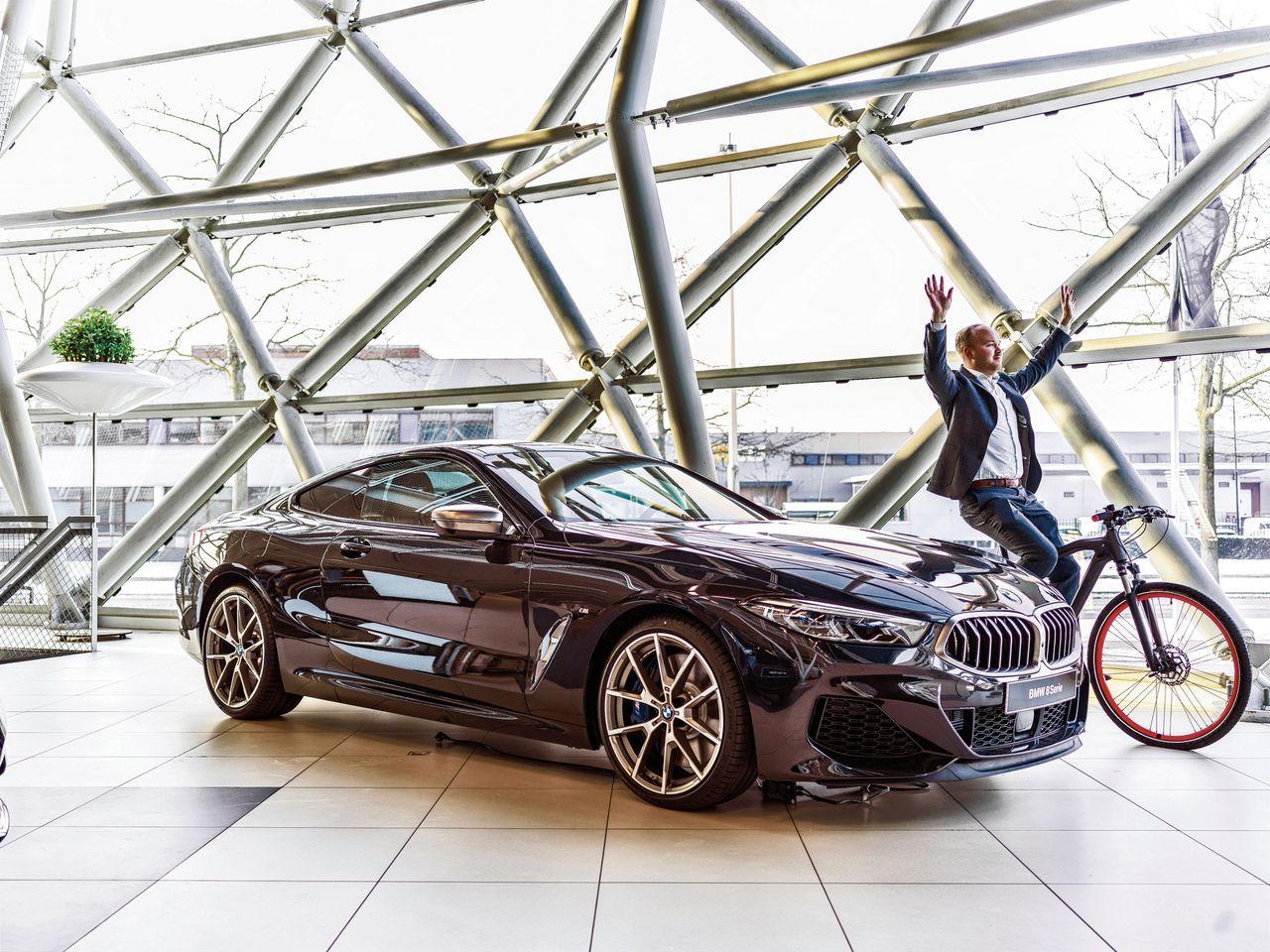 De nieuwe BMW 8 Serie bij Ekris BMW in Utrecht Foto Merlijn Doomernik