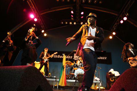 Blitz the Ambassador. Foto Bram Janssen / NRC