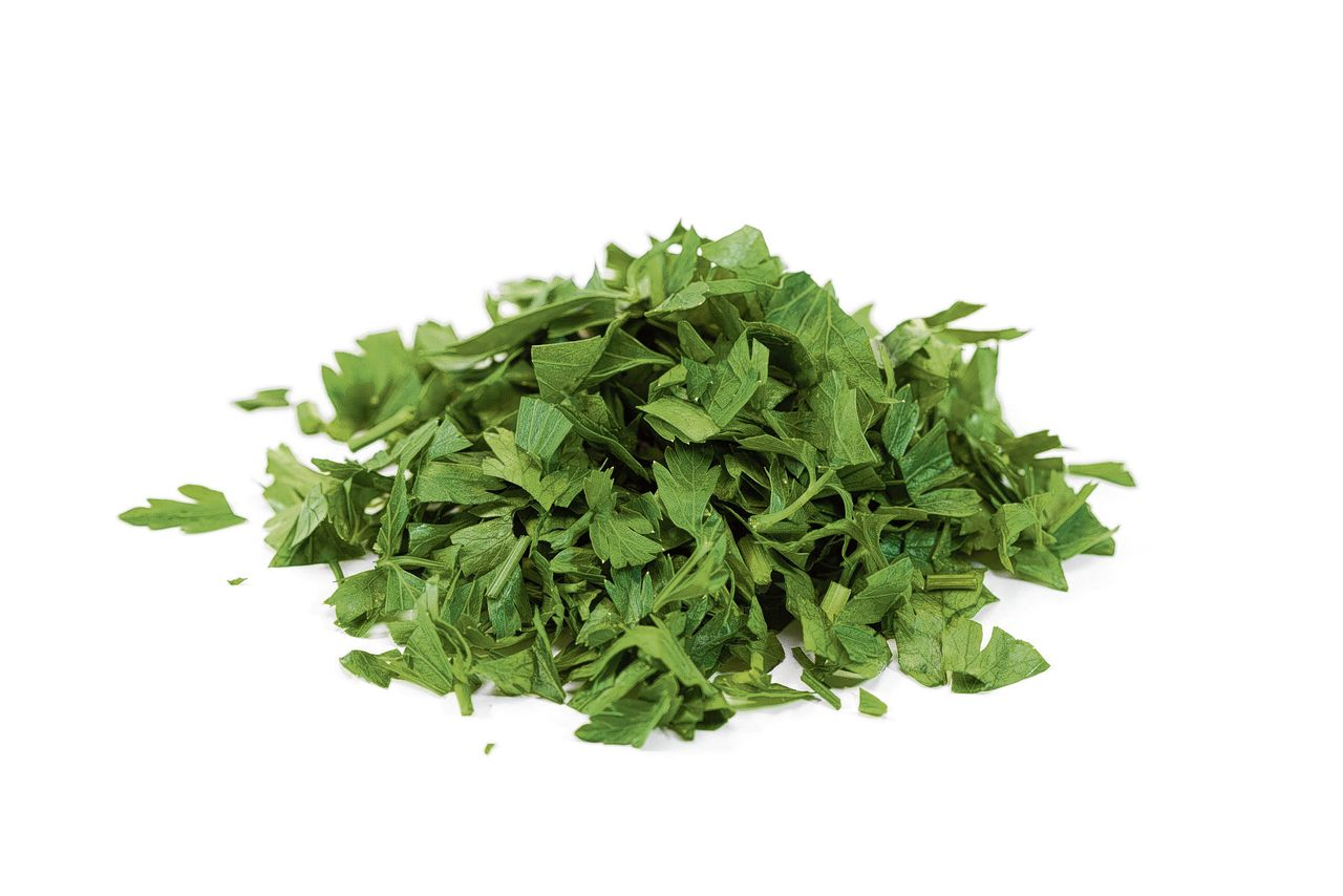chopped parsley - pieces