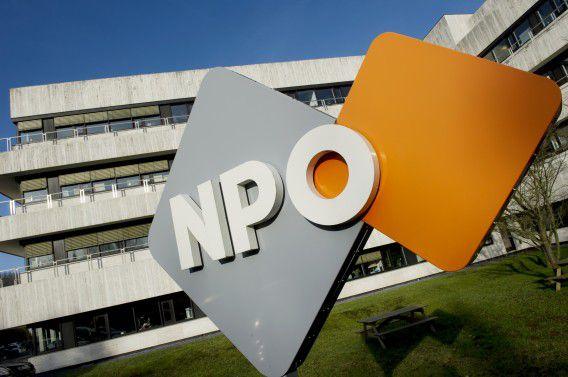 NPO op het Mediapark in Hilversum.