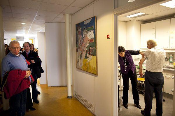 Inentingen tegen de Mexicaanse griep vorig jaar in Nijmegen. Foto Rien Zilvold
