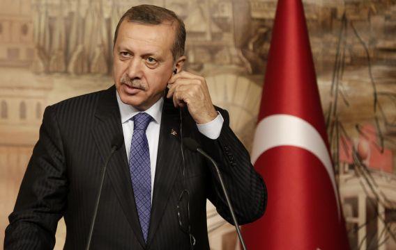 De Turkse minister-president Tayyip Erdogan.