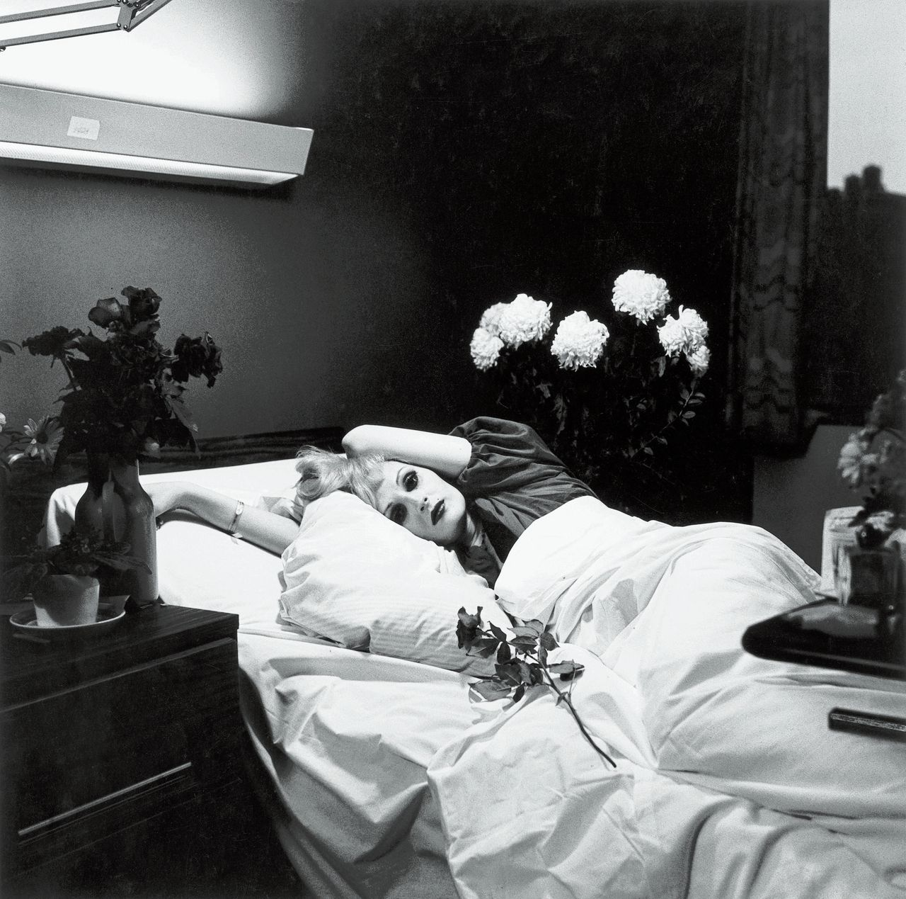 Peter Hujar: Candy Darling, 1973 Foto Morgan Library & Museum