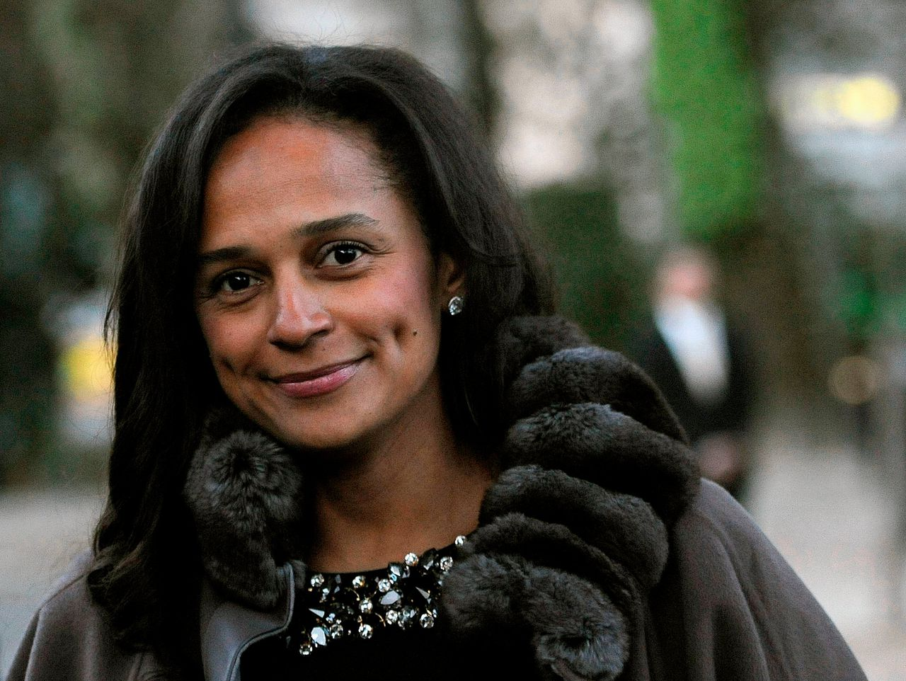 Isabel dos Santos in Portugal in 2015.