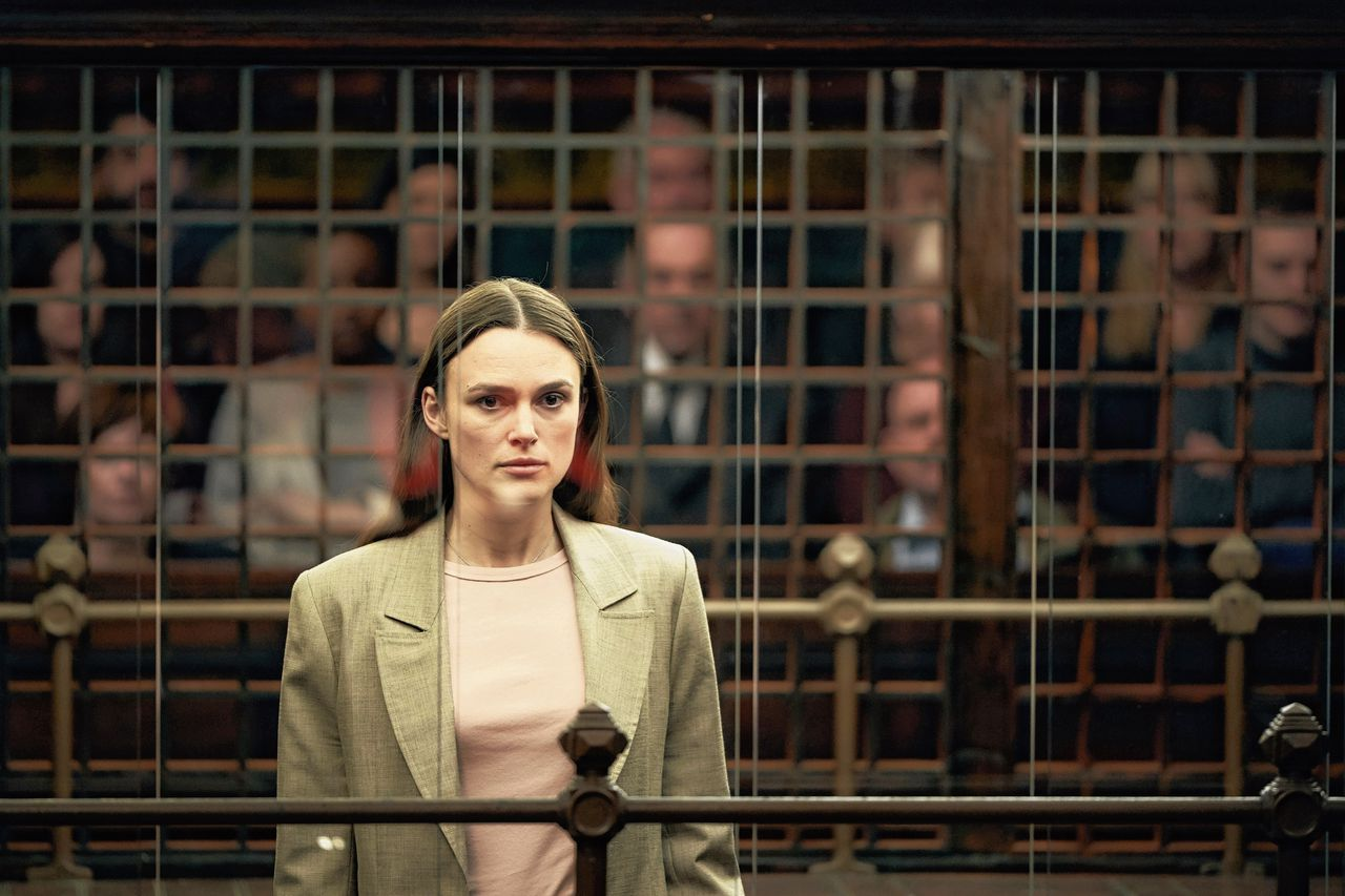 Keira Knightley in 'Official Secrets'.