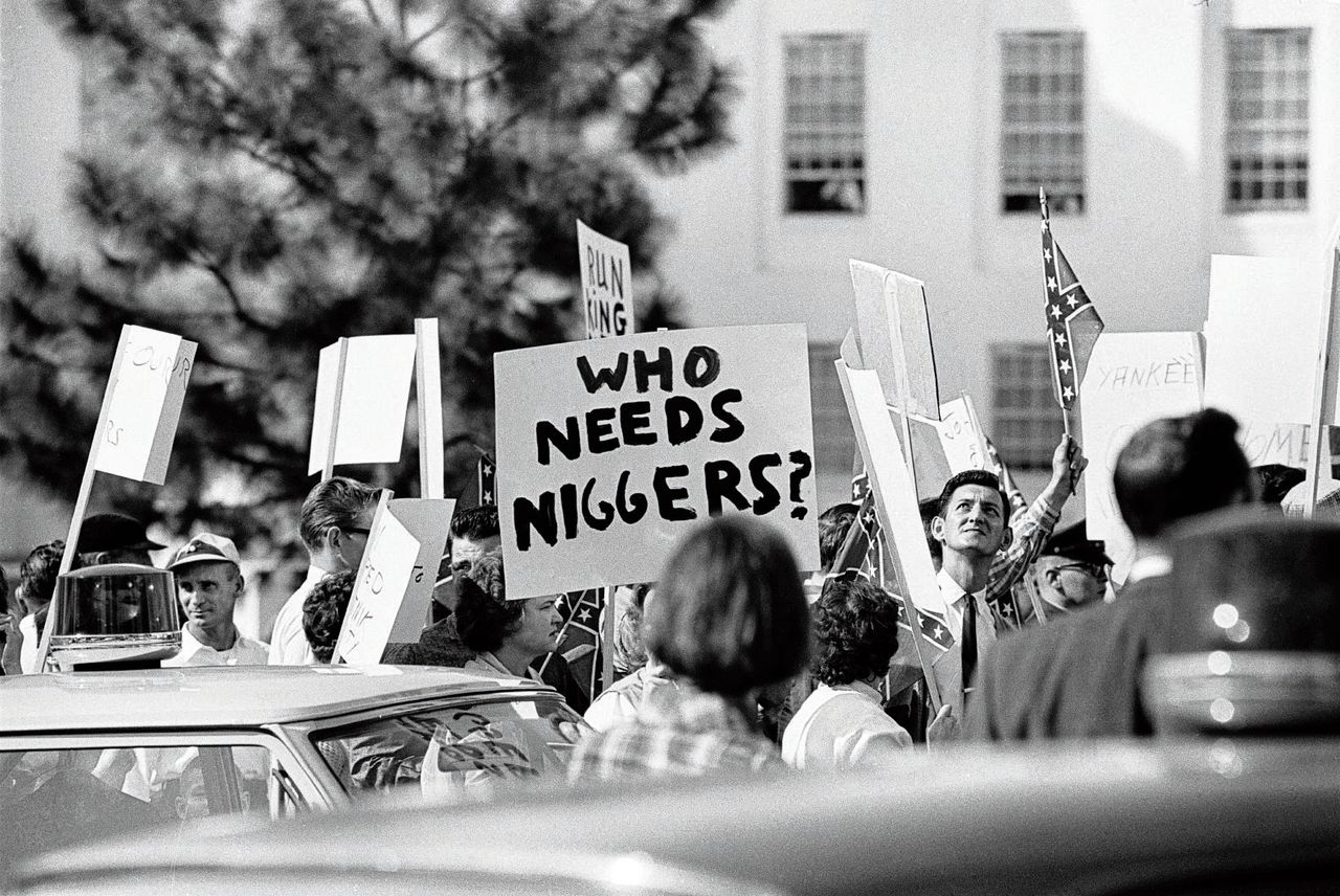 Een still uit de documentaire I am not your negro.