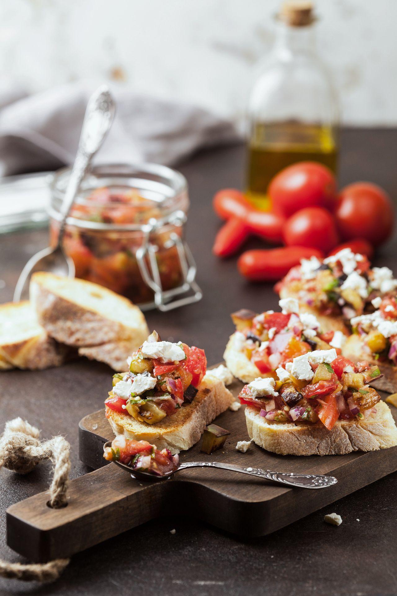 Mediterrane etenswaar.