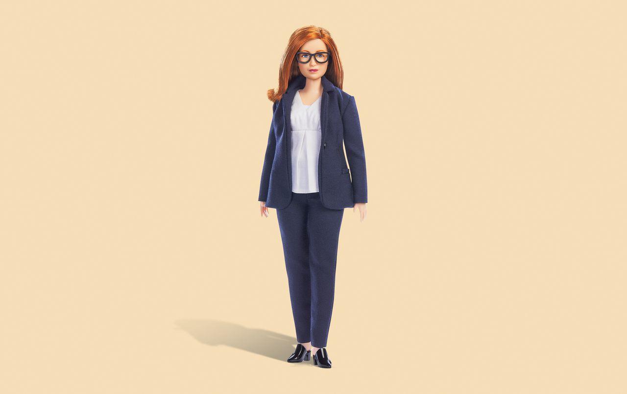 De barbiepop van Sarah Gilbert
