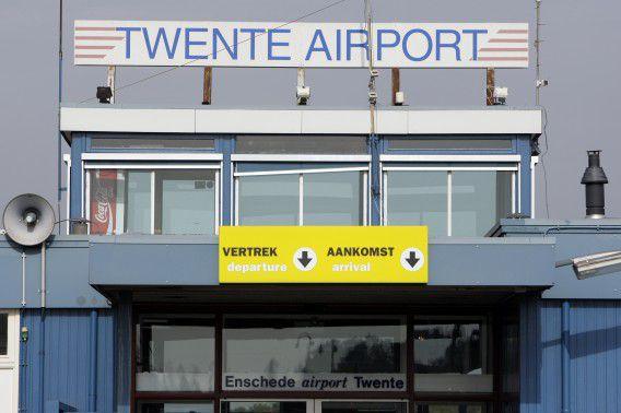 Het luchthavengebouw op vliegveld Twente nabij Enschede. Foto ANP / Vincent Jannink