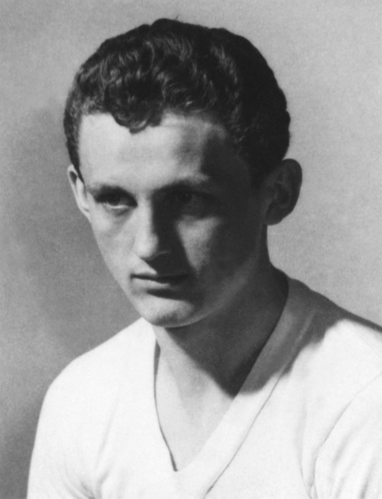 (FILES) - Portrait taken in Budapest in the 50's of forward Florian Albert who played for the Hungarian national soccer team. Florian Albert, the former Hungary striker and European Footballer of the Year, has died in hospital at the age of 70, the Hungarian news agency MTI said on October 31, 2011. Albert died early morning on Monday following heart bypass surgery carried out on Friday.