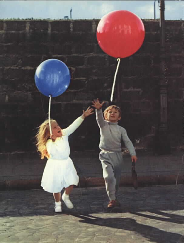 uit 'Le Ballon Rouge', film van Karel Appel