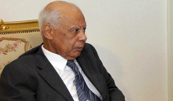 Interim-premier van Egypte Hazem el-Beblawi