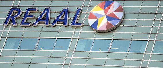 Hoofdkantoor van SNS Reaal in Utrecht. Brussel heeft ingestemd met het plan van de regering om de bank-verzekeraar op te splitsen.