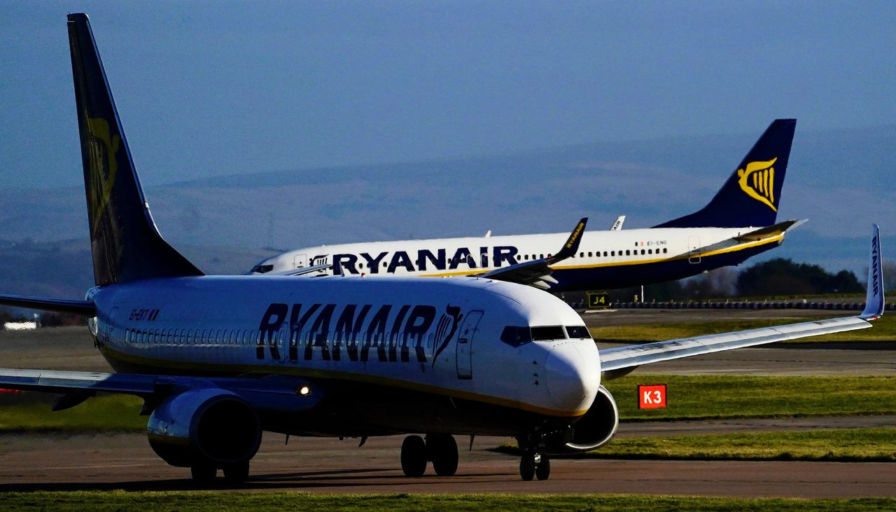 Een kwart van de piloten van Ryanair is gestationeerd in Groot-Brittannië