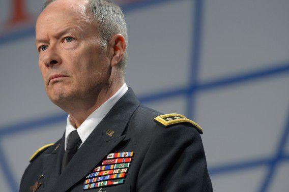 Directeur-generaal van geheime dienst NSA Keith Alexander