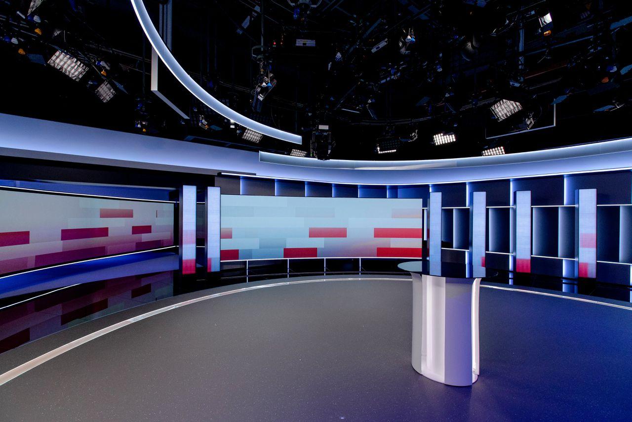 De studio van het NOS Journaal.