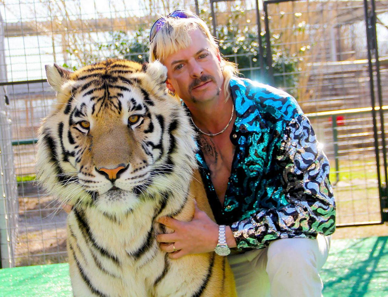 Joe Exotic uit de documentaire Tiger King.