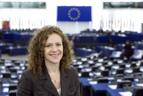 Sophie in 't Veld is europarlementariër voor D66 sinds 2004.
