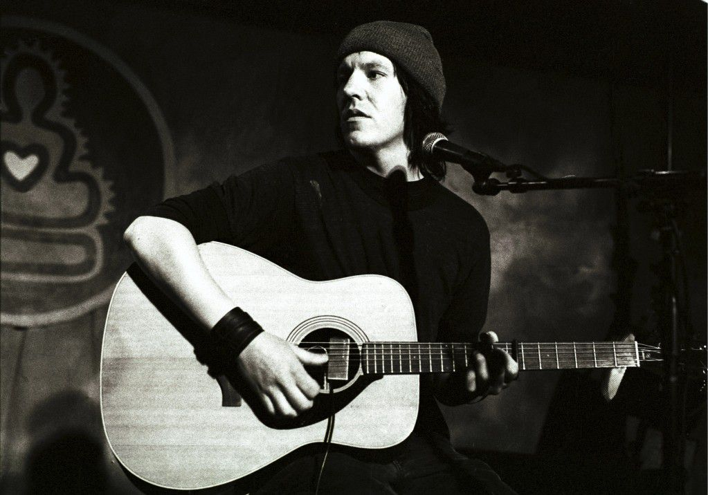 Elliott Smith op Lowlands, augustus 1998.