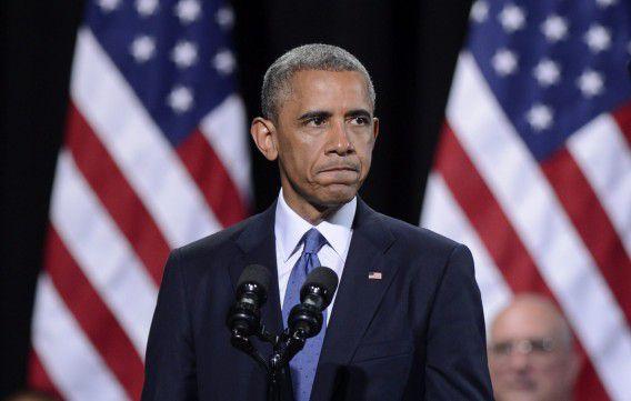 Het is nog onbekend hoe lang de luchtoperaties van de VS in Irak zullen doorgaan, aldus president Obama vandaag tijdens een persconferentie.